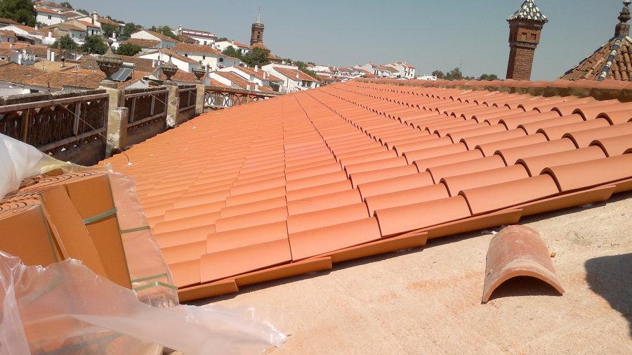 tejado en fase final