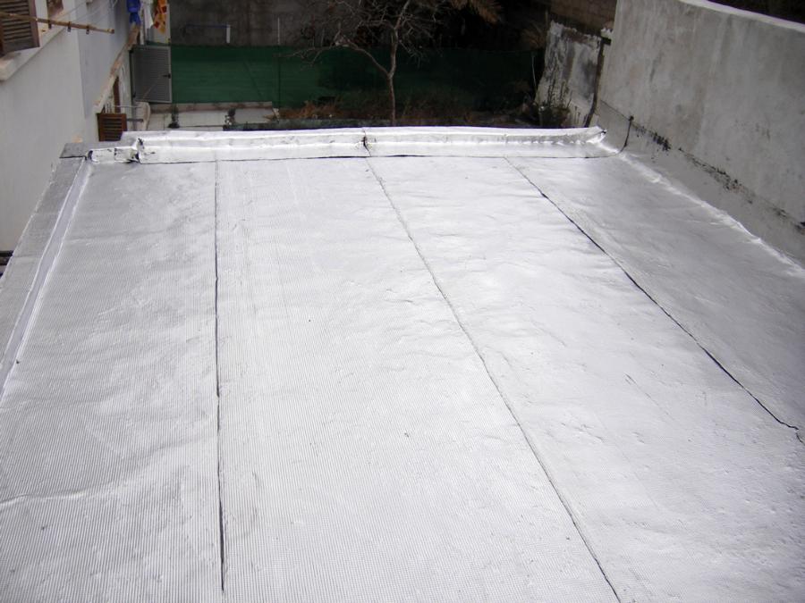 Foto tela asfaltica aluminizada de piedramole for Precio mano de obra colocacion tela asfaltica