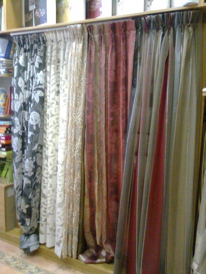 Foto tela para cortinas de clasica tapiceria y cortinas - Tapiceros en ourense ...