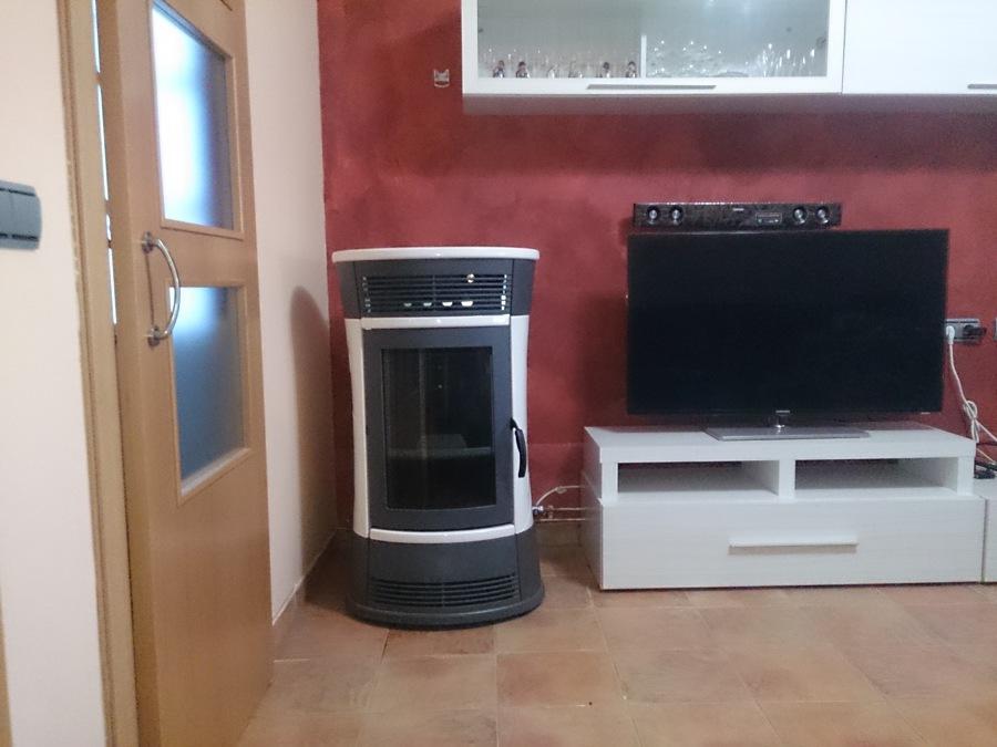 Foto termo estufa de pellet de 15 kw con sistema de - Estufas de lena para calefaccion con radiadores ...