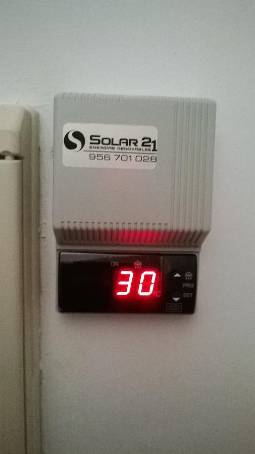 Foto termostato digital de solar 21 521280 habitissimo - Termostato digital precio ...