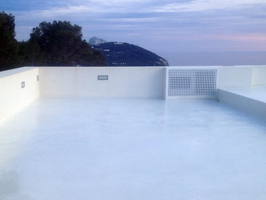 Foto terraza cemento pulido en ibiza de betonisart for Cemento pulido precio