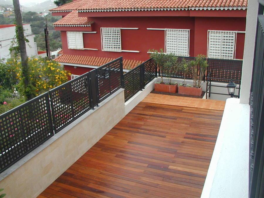 Terraza de madera IPE