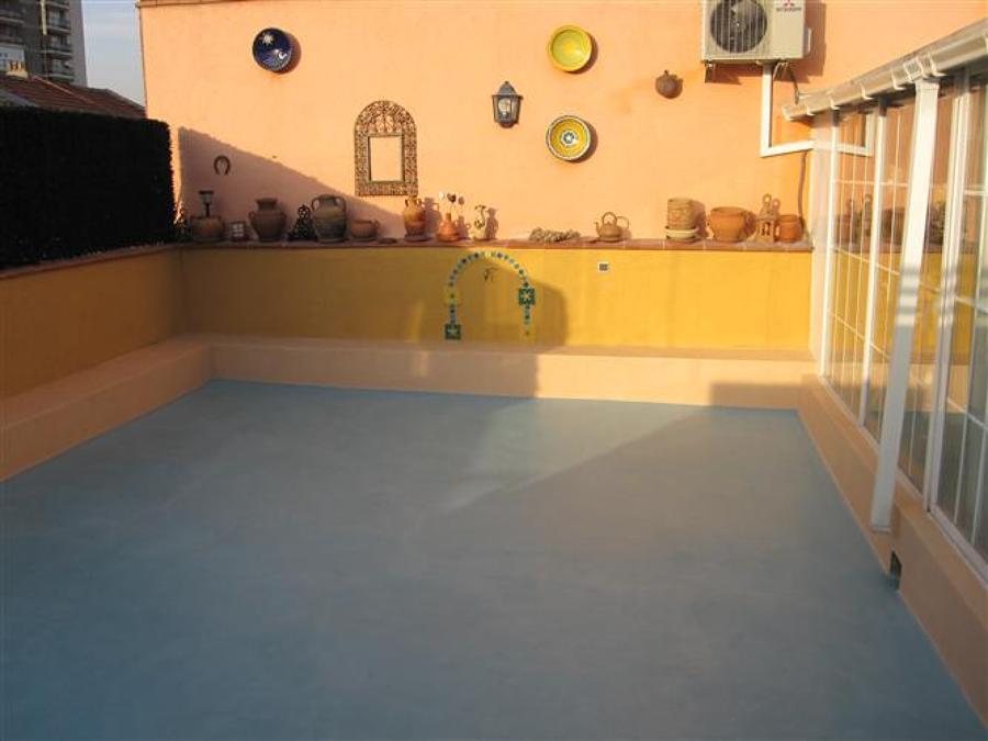 Foto terraza de microcemento en toledo de microc 697178 habitissimo - Microcemento en valencia ...