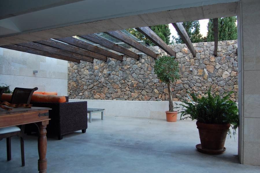Terraza en chalet de Castellón