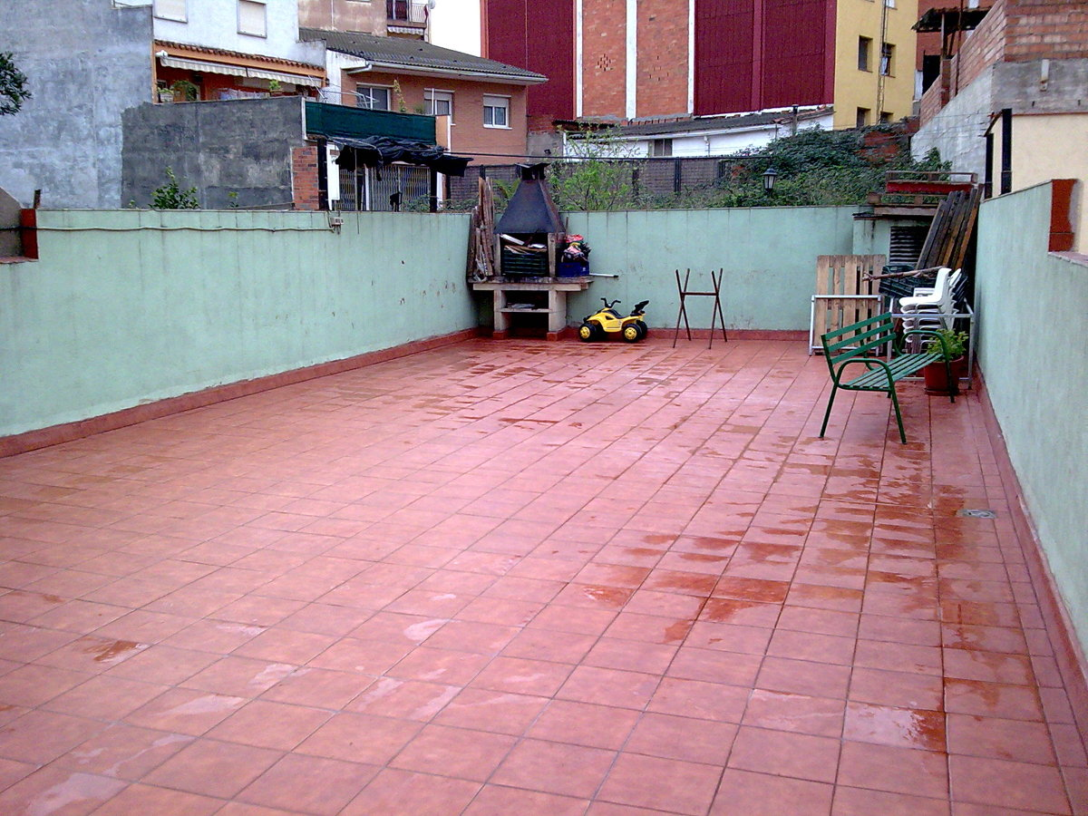 Terraza impermeable + gres