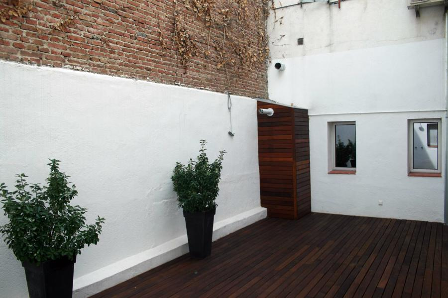 Terraza Reforma integral Manzanares