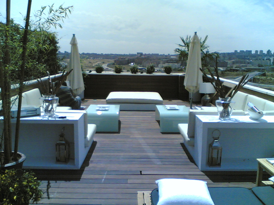 Terraza vivienda en El encinar - Madrid