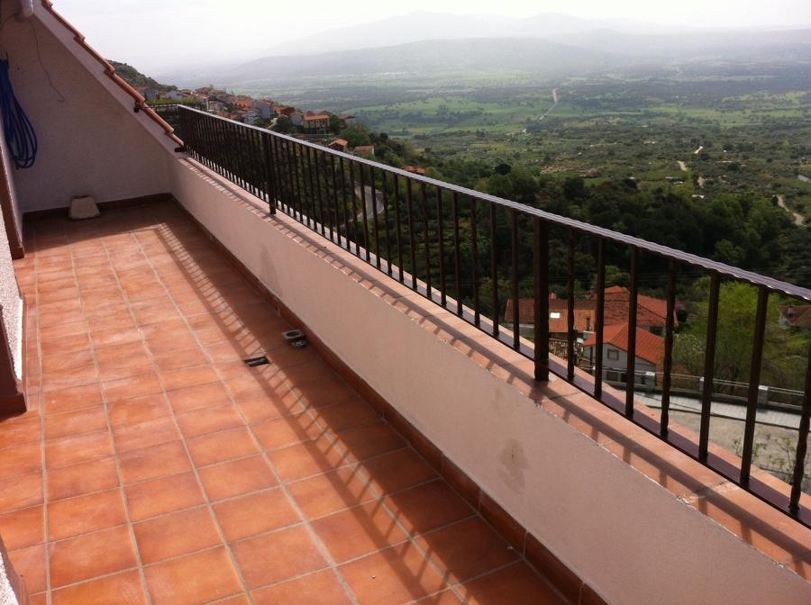 Foto terrazas y barandillas de carpinter a de aluminio - Carpinteria de aluminio en murcia ...