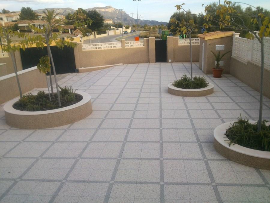 Foto terrazo exterior de cerd n rubio construcciones s l for Terrazo exterior 40x40