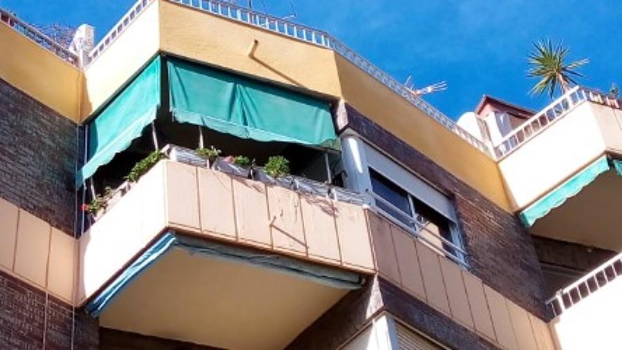 fachada de un edificio.