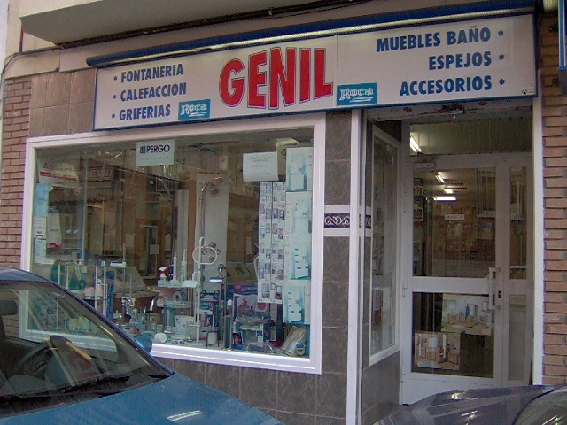 Foto tienda de saneamientos genil s l de azulejos y for Saneamientos granada