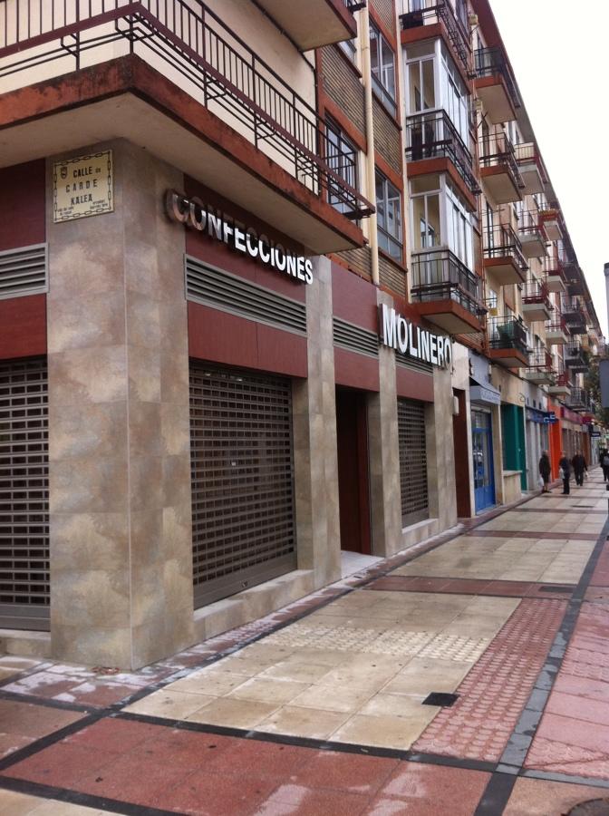 Reforma integral tienda ropa Pamplona