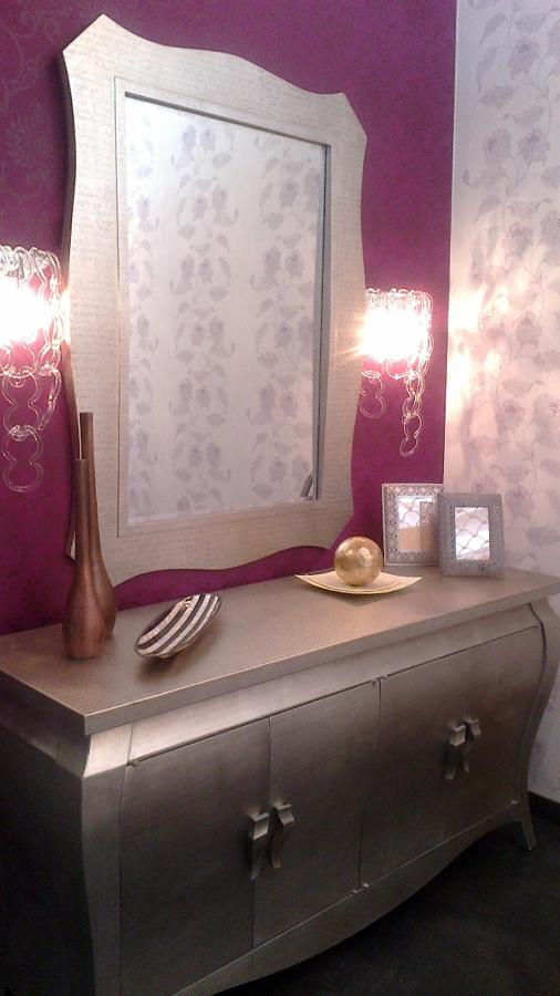 Foto papel pintado y mueble auxiliar de serranos studio for Papel pintado tenerife