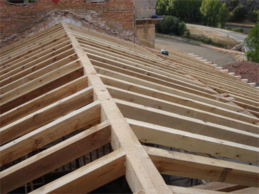 foto techo de madera en tenerife de reformas lercos