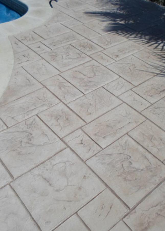 Foto pavimento hormigon impreso de solados terranova for Pavimento de hormigon barcelona