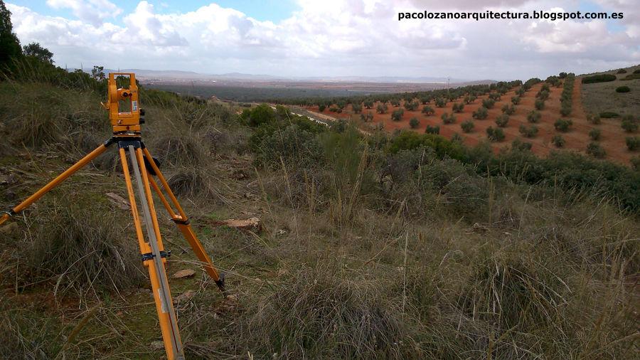 Trabajos topográficos