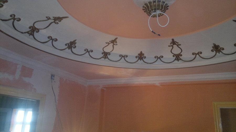 trabajo de restauracion y decoracion