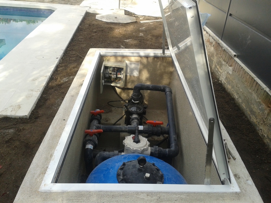 Casetas para depuradoras de piscina elevadas interesting for Caseta depuradora piscina