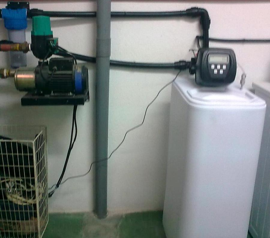 Foto tratamiento de agua descalcificadores tanto para - Descalcificadores de agua precios ...