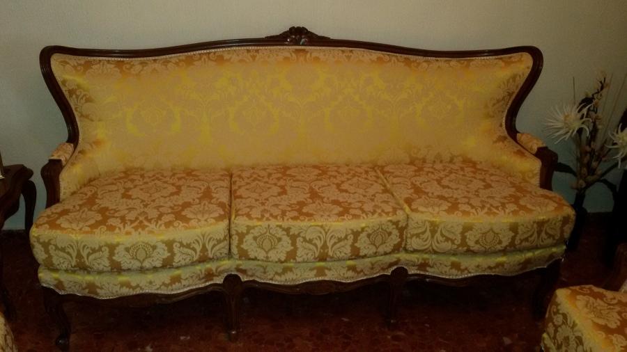 Foto tresillo clasico de marley tapizados 735585 - Tapiceros en huelva ...