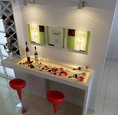 Foto un bar en casa de decopladur 263202 habitissimo - Barras de bar para casas ...