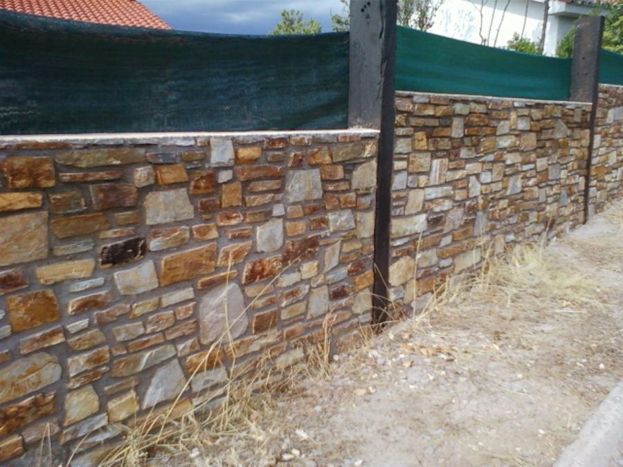 Foto valla de piedra de nicconstruct reform 645355 habitissimo - Vallas de piedra ...