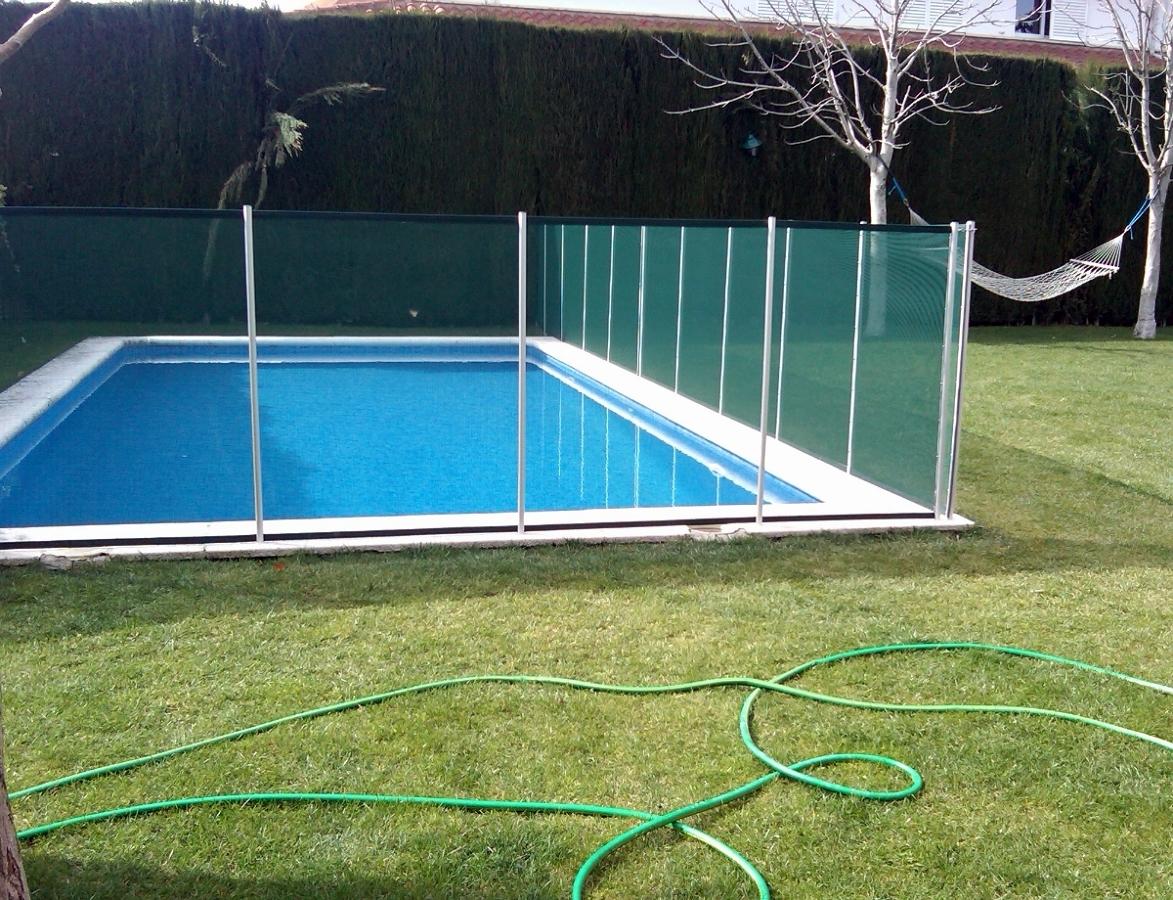 foto valla para piscina desmontable de vallasivan