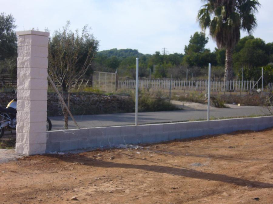 Foto vallado de finca de construcciones mediterr neo rural 654550 habitissimo - Vallado de fincas precio ...