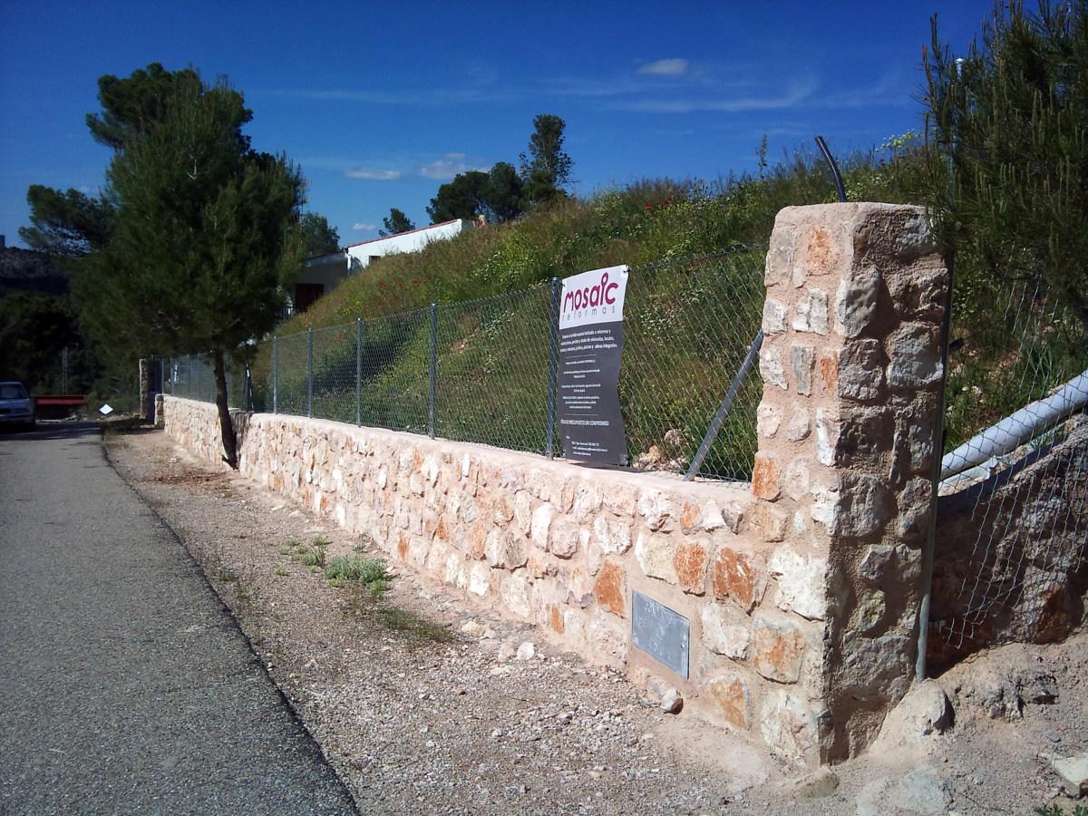Foto vallado de parcela de mosaic obras y reformas s r l - Vallado de parcelas ...