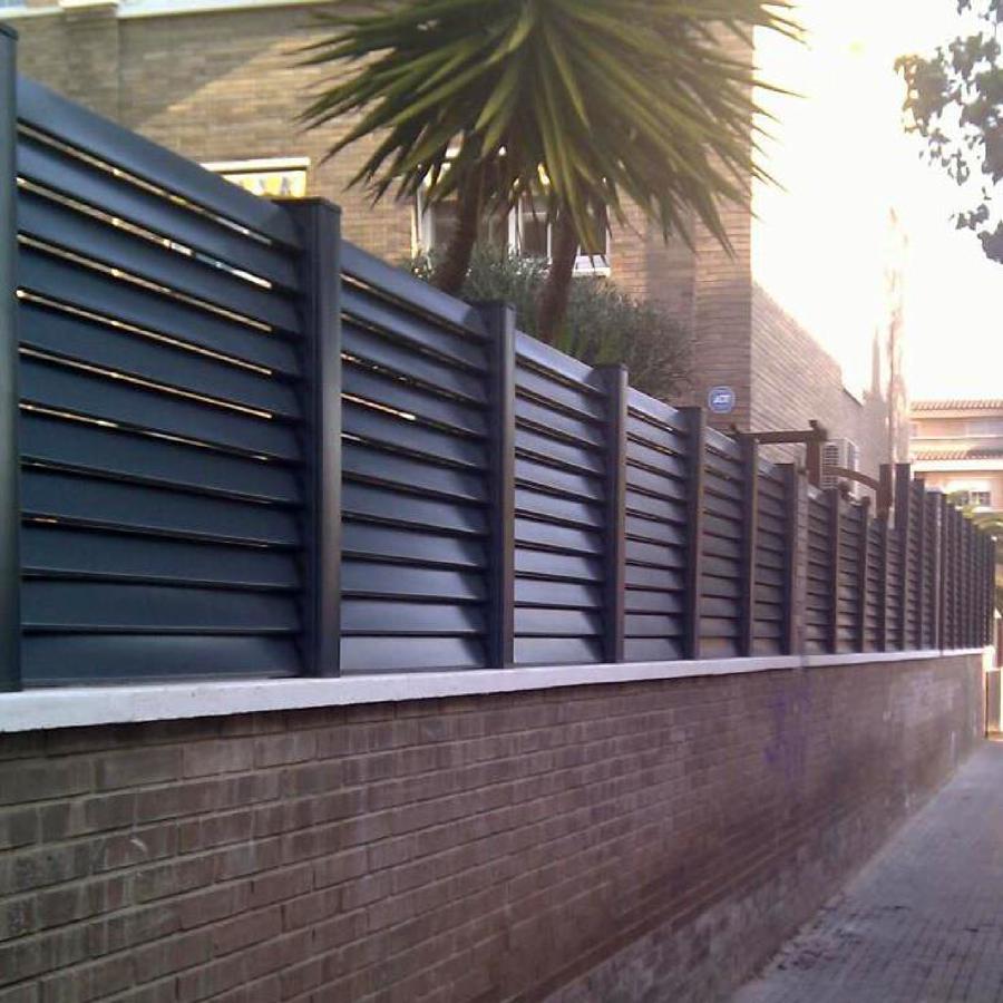 Foto vallas de aluminio de a carranza 432370 habitissimo - Vallas de pvc para jardin ...