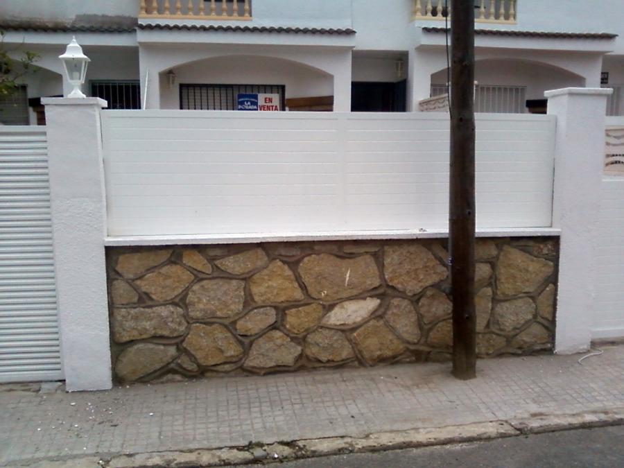 Foto vallas de jardin de aluminios mg 244615 habitissimo - Vallas jardin pvc ...
