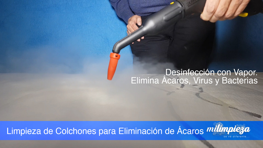 Limpieza de Colchones Con Vapor
