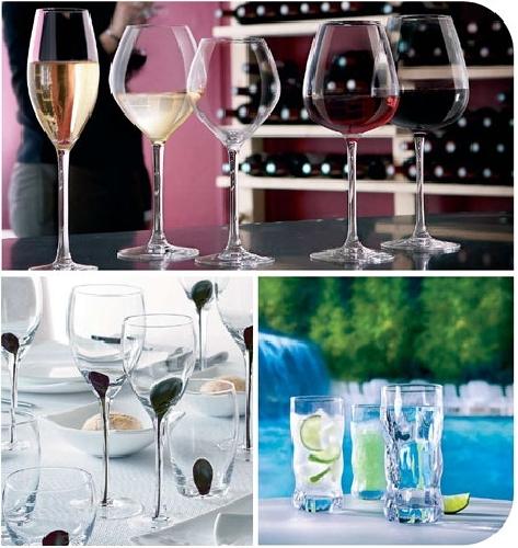 Foto vasos y copas de regalarhogar 232567 habitissimo for Vasos y copas