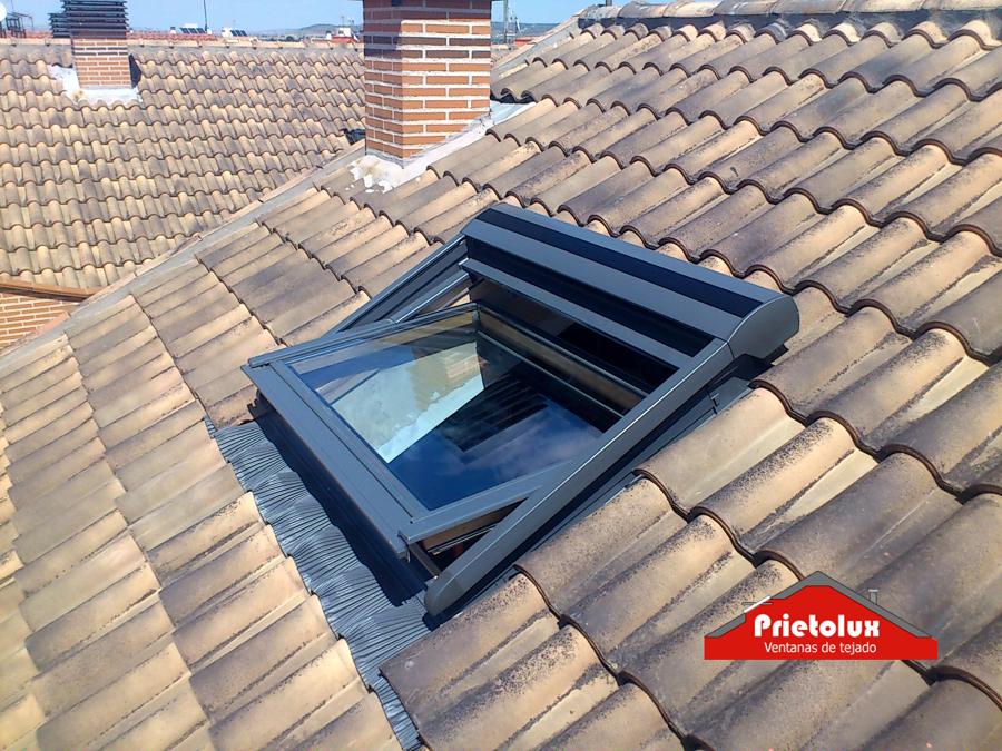 prietolux ventanas de tejado avicola del jarama