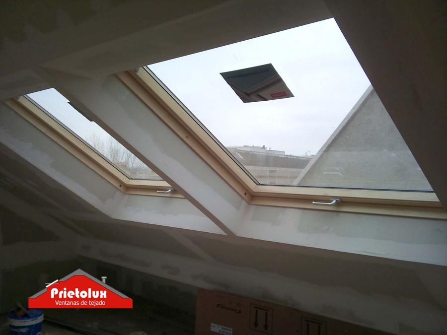 Cambiar juntas ventana velux cortinas roller para for Persianas velux precios