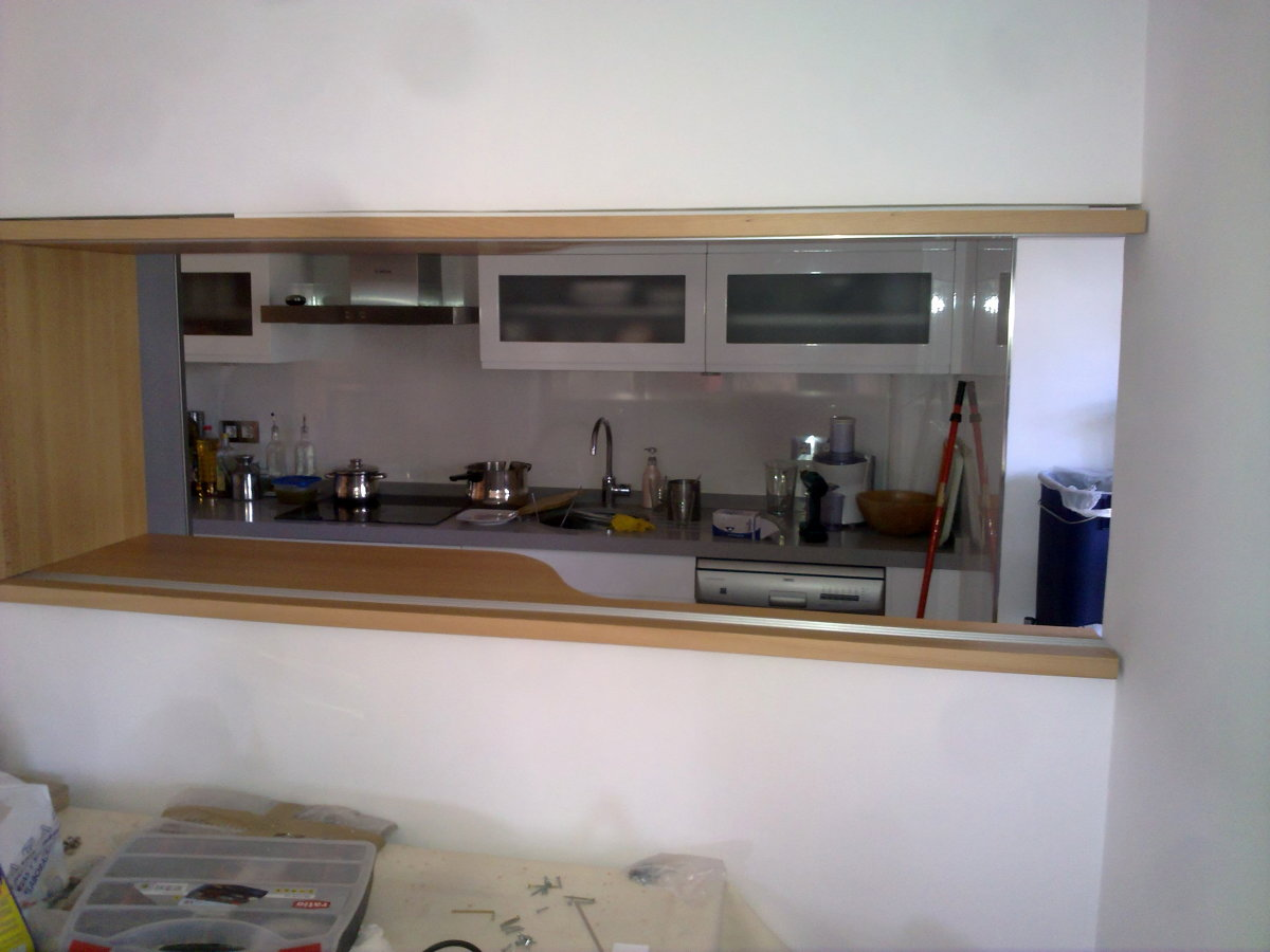 Foto ventana de uni n comedor cocina de macape 186190 for Imagenes de cocina comedor