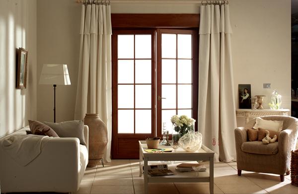 ventanas con barrotillo