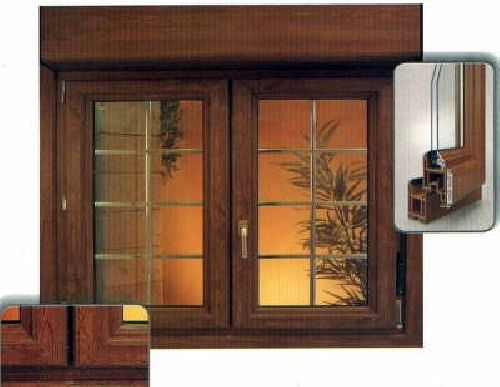 Foto ventanas madera aluminio y pvc de blin gon s l for Precio ventana pvc con persiana