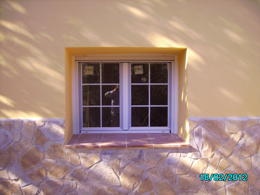 ventanas nuevas + vierteaguas