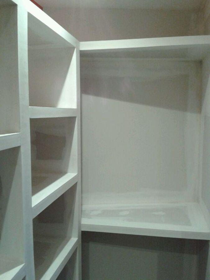 Foto vestidor con armario de pladur 2 de yesos barnaguix - Precio armario empotrado 2 metros ...