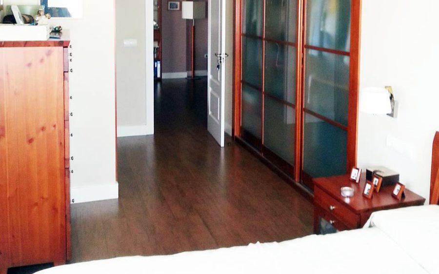 Vestidor en dormitorio piso camino de ronda