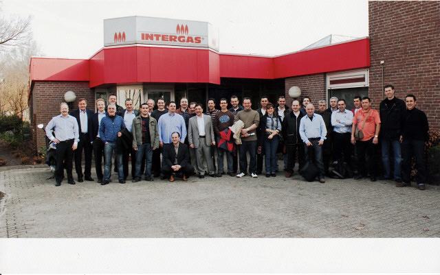 Viaje a fabrica de Intergas