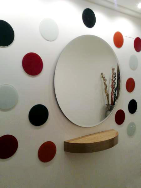 Vidrios y espejos decorativos