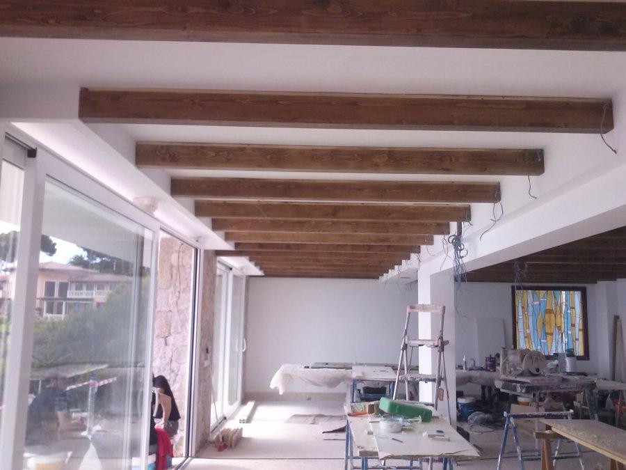 Foto vigas de madera de paco barea carpinteria 685465 habitissimo - Vigas de madera malaga ...