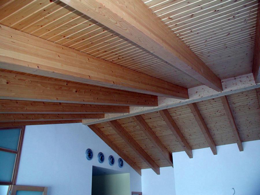 Foto vigas y techos de hidalgo ciutadella 206043 habitissimo - Vigas de madera malaga ...