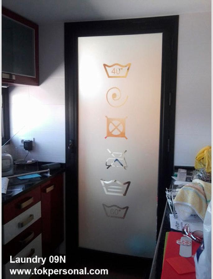 Foto vinilos para cristales modelo laundry 09n en for Pegatinas para cristales