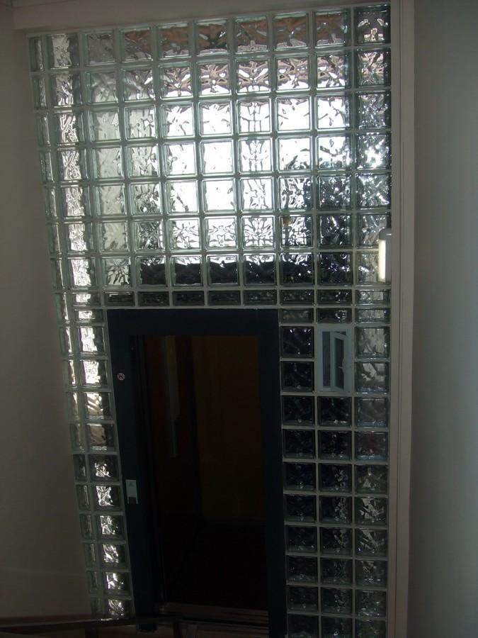 vista de ascensor integrado