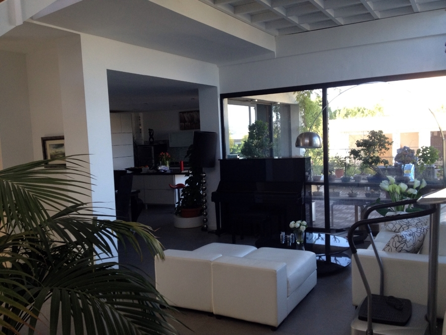 Foto vista de union sala de estar comedor cocina de for Sala de estar y cocina