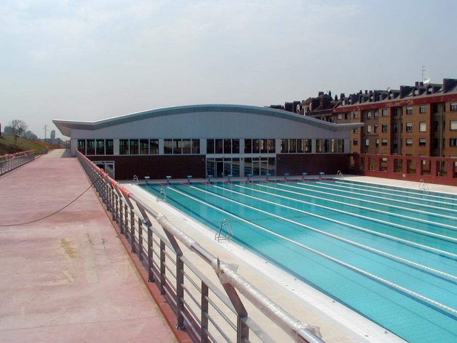 Foto piscinas olimpicas de oviedo de arquitecto t cnico e for Piscinas oviedo